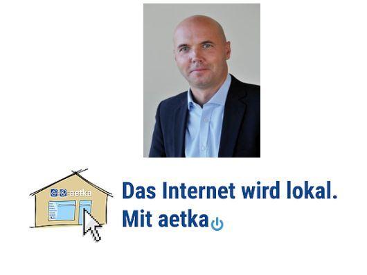 Aetka, Uwe Bauer und das Konzept (Bild: Komsa)