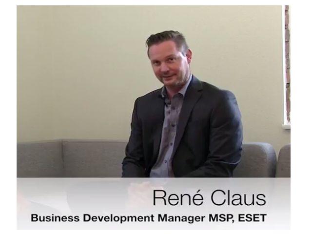 René Claus, ESET-MSP-Manager (Bild: Ebertlang)