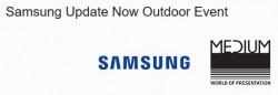Samsung-Outdoor-Event (Bild: Medium)