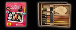 Zwiasche-Incentives nach dem Erreixchen erster Umsatzziele: Susi-Kochbuch unhd japanisches Besteckset (Bild: TechData