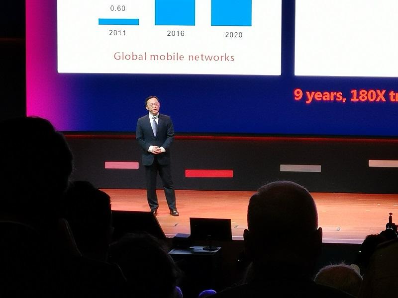 Keynote auf der Huawei Partnerkonferenz 2018
